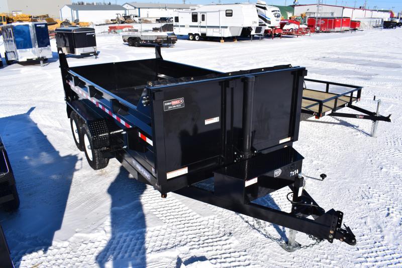 2018 Sure-Trac 82 IN X 14 LP 14K Telescopic Dump