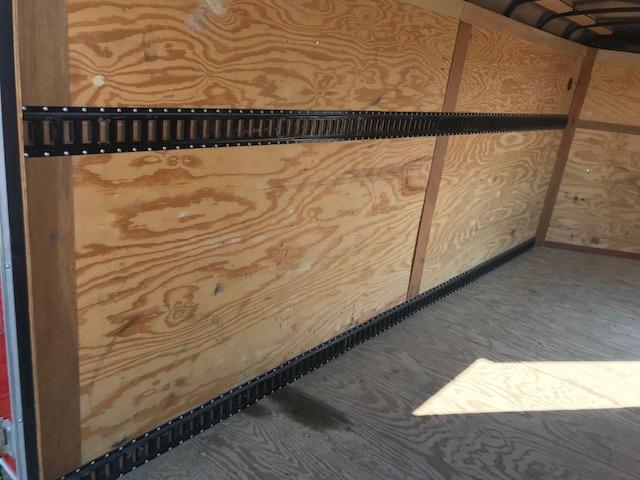 2015 Sure-Trac 7 x 16 V-Nose Cargo Enclosed Trailer 10K Ramp