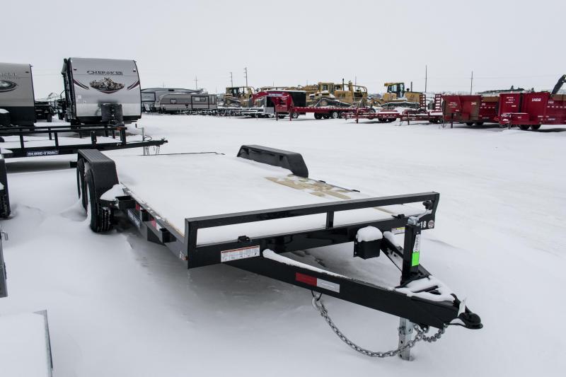 2019 Sure-Trac 7 X 18 Wood Deck Car Hauler 10k