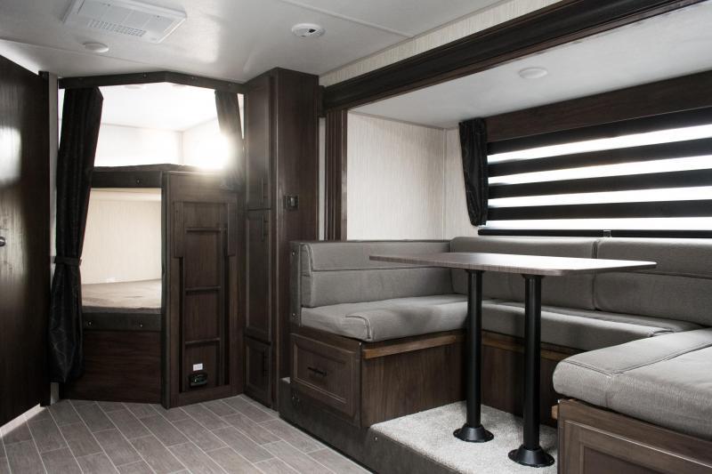 2020 Grey Wolf Limited 23DBH Travel Trailer Bunk Model RV