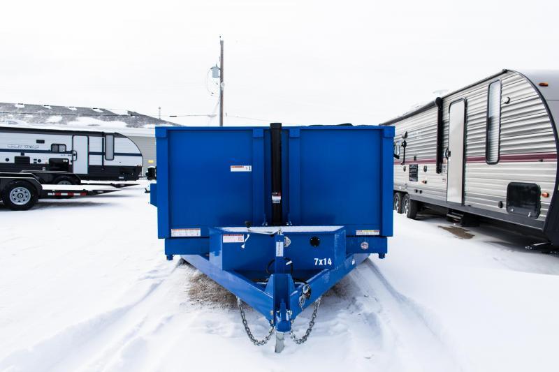2020 Sure-Trac 7 X 14 HD 14K Telescopic Dump Trailer