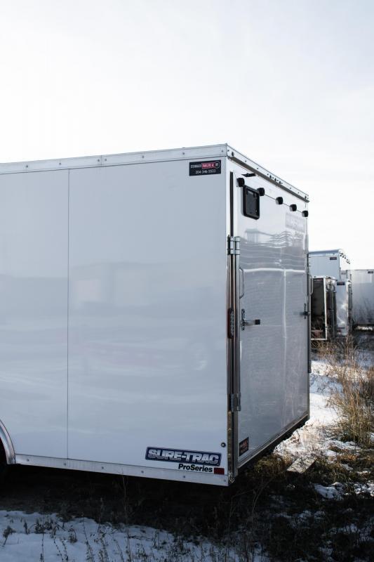 2019 Sure-Trac 8.5x20 Pro Series Enclosed/Cargo  TA 10K Ramp