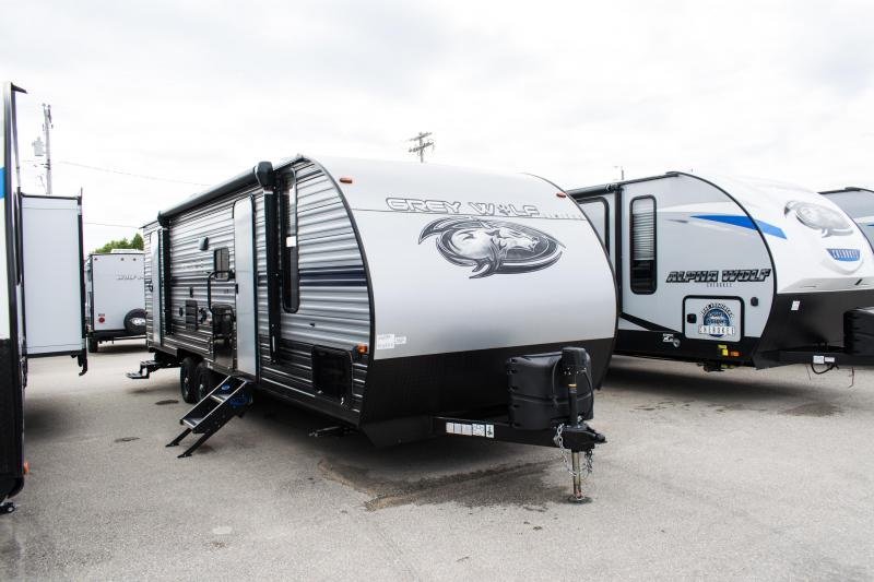 2020 Grey Wolf Limited 26DBH Travel Trailer w/Bunks