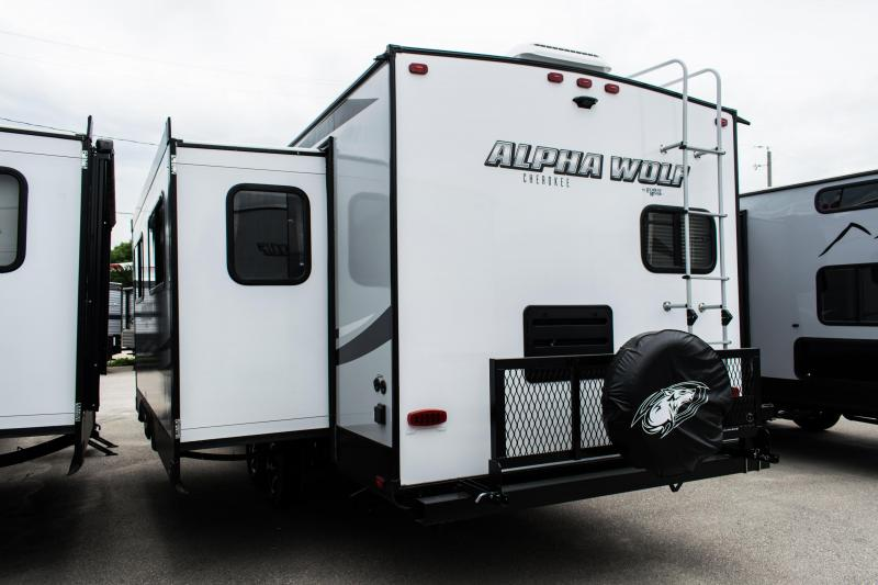 2020 Alpha Wolf Limited 27RK Couples Model Travel Trailer
