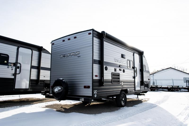 2020 Wolf Pup Limited 16BHS Travel Trailer w/Bunks