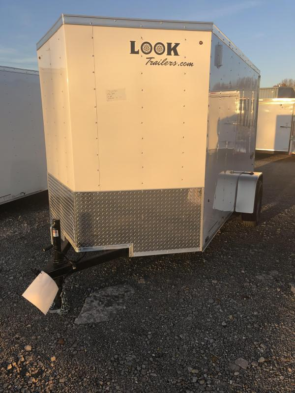 2019 Look Trailers EWLC6X10SI2 Flat Top Enclosed Cargo Trailer