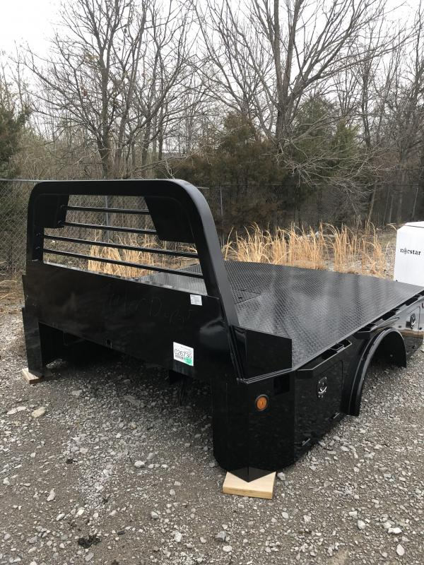 "2019 Norstar ST 8'6"" x 97"" CTA 58"" Skirted Truck Bed with Front & Rear Toolboxes"