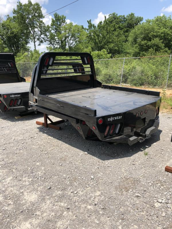 """2018 Norstar 84""""x84"""" SF Truck Bed Smooth Rails"""
