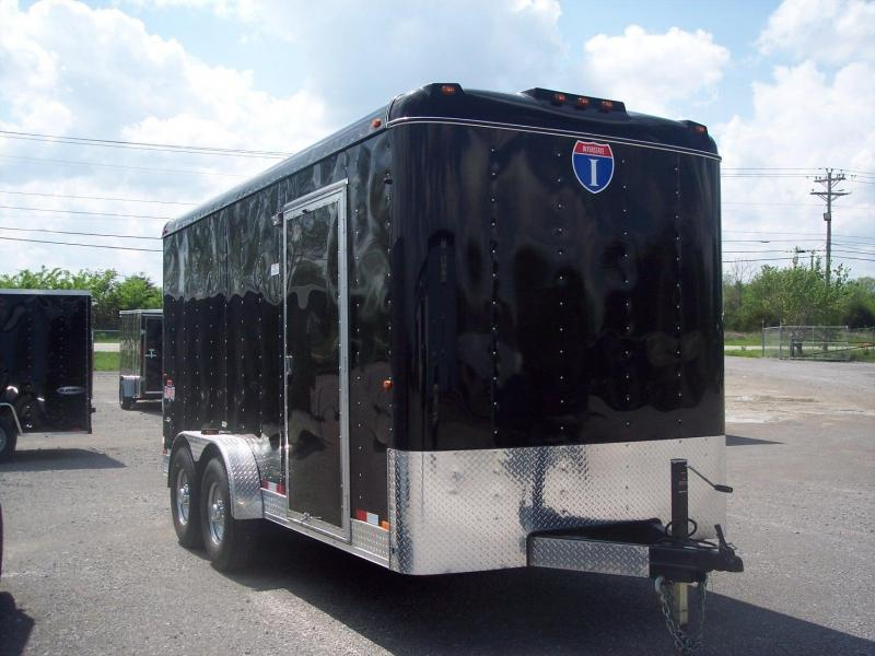 2016 Interstate I716TA2 Enclosed Cargo Trailer
