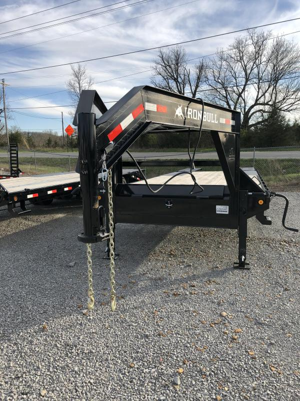 2019 Iron Bull  14K 20'+5' GN Deckover Equipment Trailer