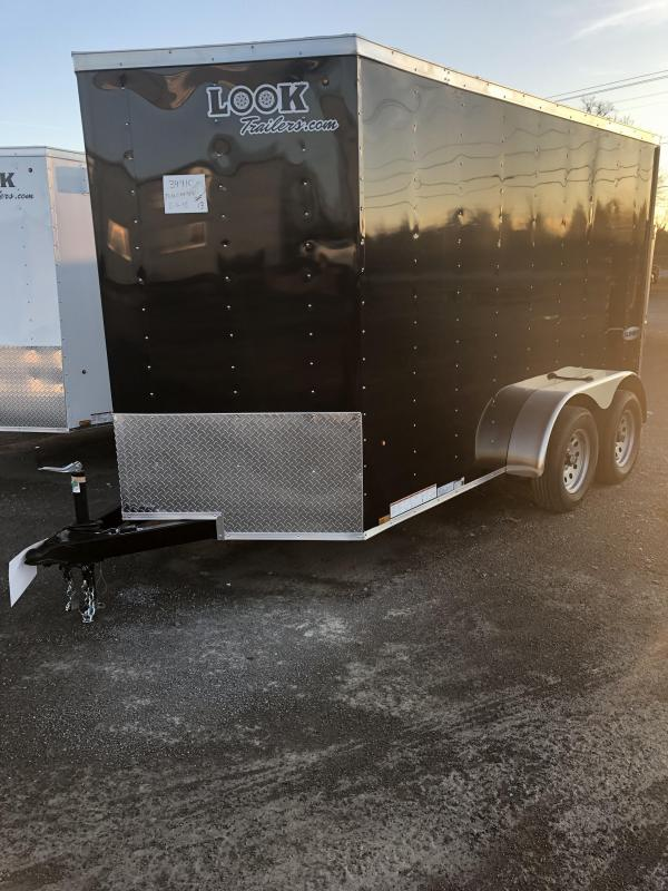 2019 Look Trailers EWLC6X12TE2 Flat Top Enclosed Cargo Trailer