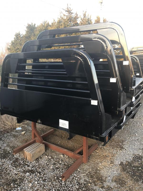 "2018 Norstar SR 84""x84"" CTA 40"" Diamond Plate Bed"
