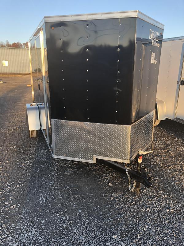 2019 Look Trailers EWLC6X10SI2 Flat Top Enclosed Cargo Trailer
