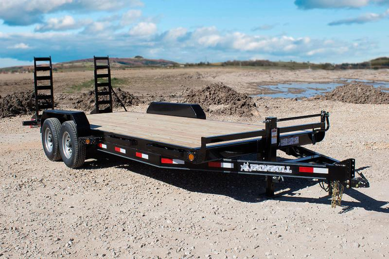 "2018 Iron Bull 7K 83"" x 20' Equipment Trailer"