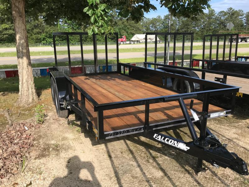 2019 6.5x12 Falcon SD Utility Trailer