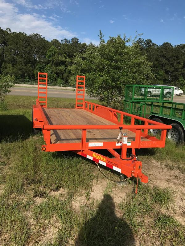 2019 6.10x20 Big Tex Trailers 10PI-20 Equipment Trailer