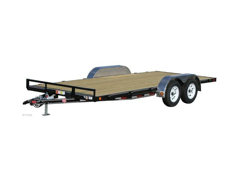 2019 6.10x18 PJ Trailers 4 in. Channel Carhauler (C4) Car / Racing Trailer