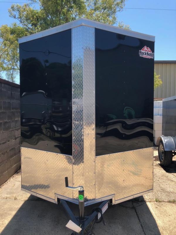 2019 Rock Solid Cargo 10x06 SA Enclosed Cargo Trailer