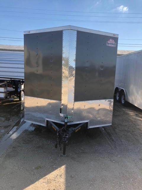 2018 5x8 Rock Solid Cargo SA VN Enclosed Cargo Trailer