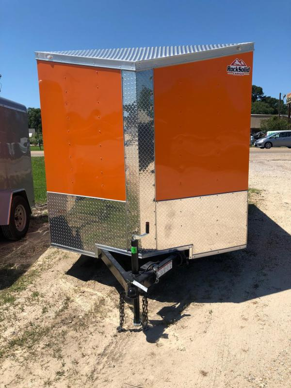 2019 Rock Solid Cargo 12x07 TA Enclosed Cargo Trailer