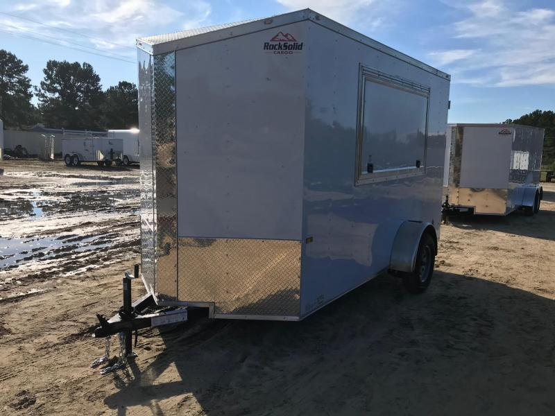 2019 6x12 Rock Solid Cargo SA SVN Enclosed Cargo Trailer
