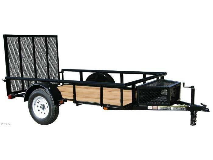 2019 Carry-On 5.5x10GWPR - 2990 lbs. GVWR Wood Floor Trailer Utility Trailer