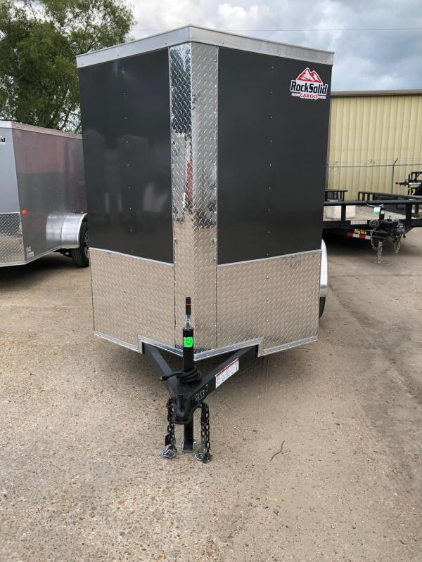 2020 Rock Solid Cargo 5x8 SA Enclosed Cargo Trailer