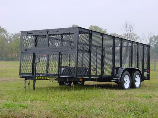 6.10x12 LS  2019 Falcon Utility trailer