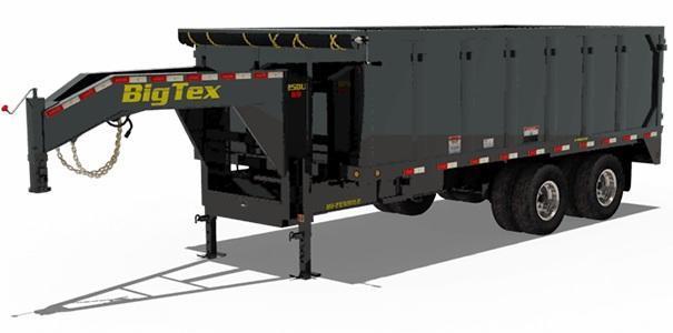2020 8x20 Big Tex Trailers 25DU-20 Dump Trailer