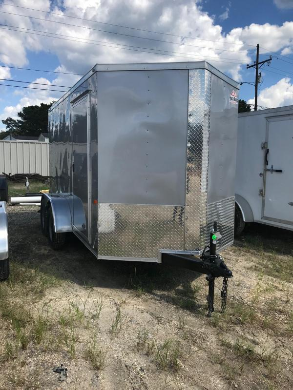 2020 6x12 Rock Solid Cargo TA VN Enclosed Cargo Trailer