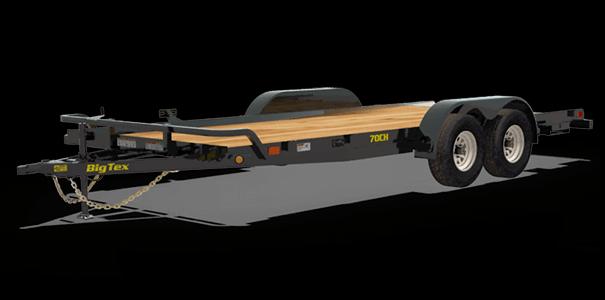 2020 Big Tex Trailers 18x06.10  70CH Car / Racing Trailer