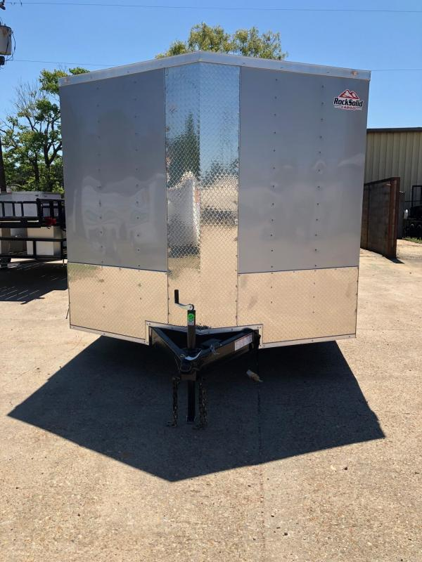 2019 Rock Solid Cargo 16x08.05 TA Enclosed Cargo Trailer