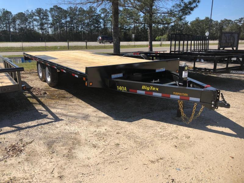2018 8.5x20 Big Tex Trailers 14OA Equipment Trailer