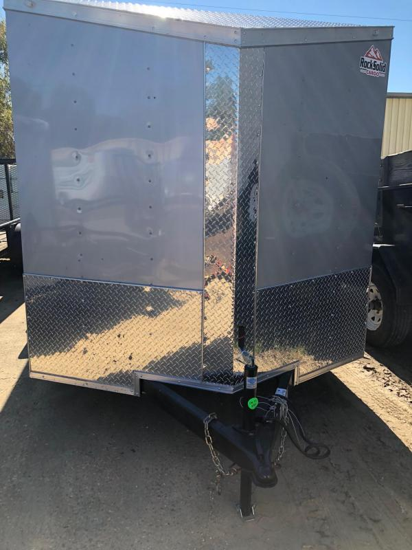 2019 Rock Solid Cargo TA VN Enclosed Cargo Trailer