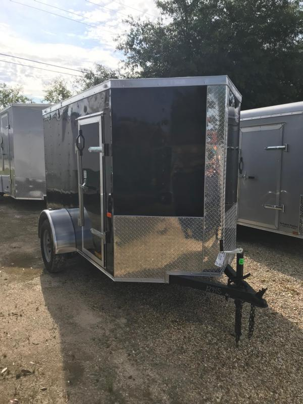 2019 5x8 Rock Solid Cargo SA VN Enclosed Cargo Trailer