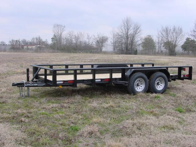 2019 Falcon 18x06.10 Super DUTY Utility Trailer