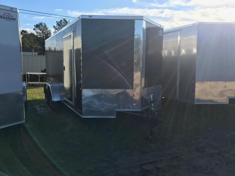 2019 7x16 Rock Solid Cargo TA VN Enclosed Cargo Trailer