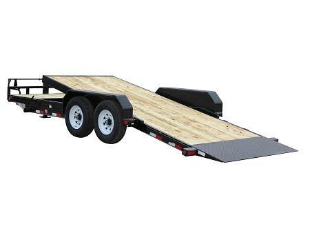 2019 6.10x22 PJ Trailers 6 in. Channel Equipment Tilt (T6) Car / Racing Trailer