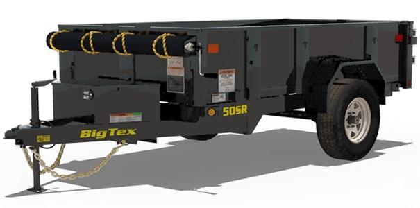 2019 5x8 Big Tex Trailers 50SR-Dump Trailer