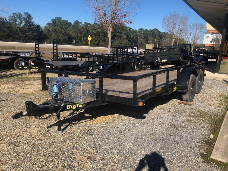 2019 6.10x16 Big Tex Trailers 70PI-16X Utility Trailer