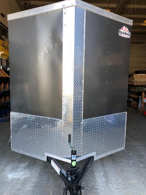 2019 Rock Solid Cargo 6x10 SA Enclosed Cargo Trailer