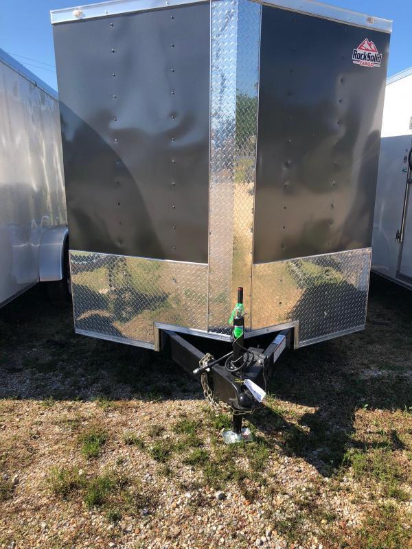 2019 Rock Solid Cargo TA VN Enclosed Cargo Trailer