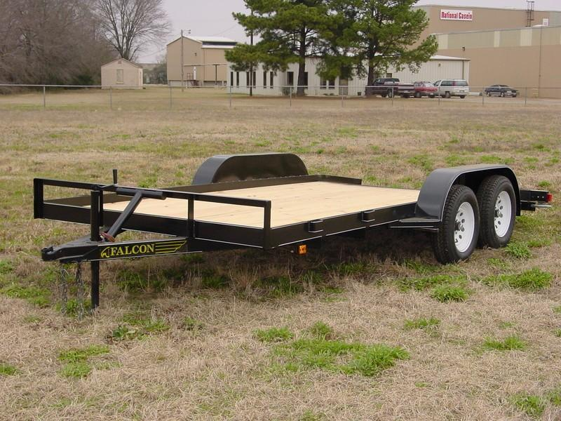 2018 6.10x16 Falcon SCH Car / Racing Trailer