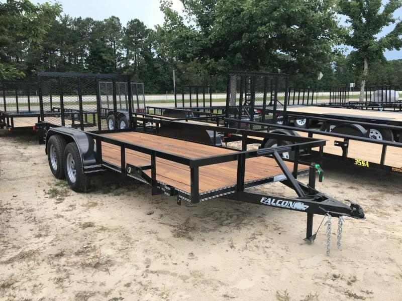 2018 6.5x12 Falcon Std Duty Utility Trailer