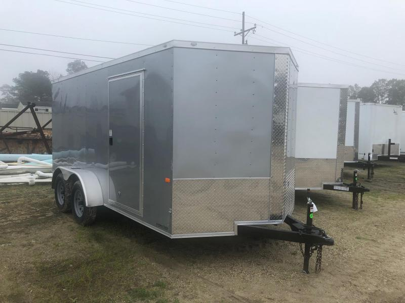 2019 7x14 Rock Solid Cargo TA VN Enclosed Cargo Trailer
