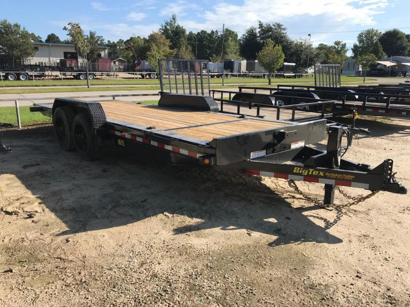 2019 6.10x20 Tilt Big Tex Trailers 16TL-20 Equipment Trailer