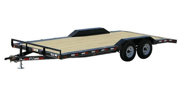 2020 8.5X20 PJ Trailers 5 in. Channel Buggy Hauler (B5) Car / Racing Trailer