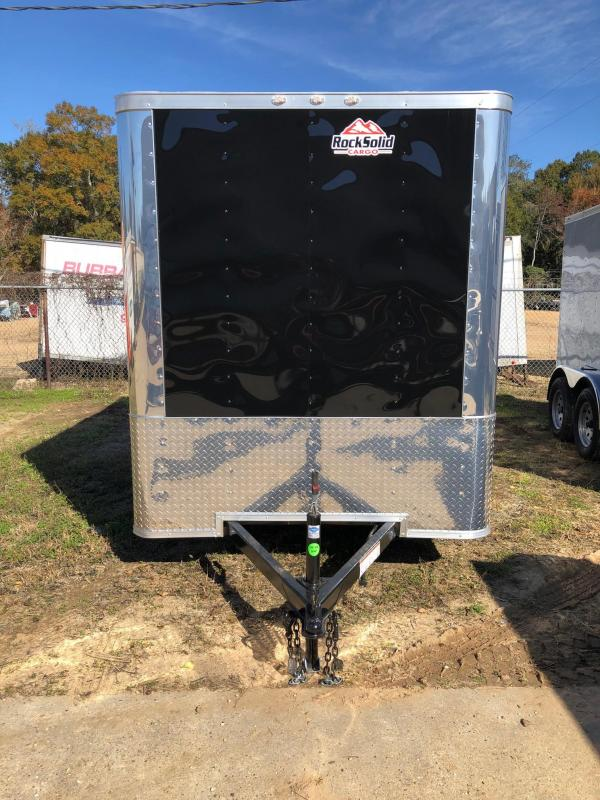 2019 Rock Solid Cargo 6x12 SA Enclosed Cargo Trailer