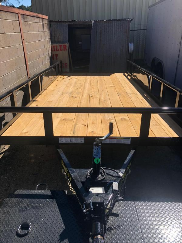 2019 Big Tex Trailers 16x06.10 70 PI Utility Trailer