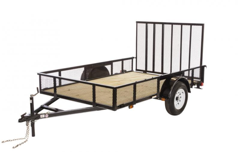 2020 Carry-On 5X10GWHS Utility Trailer - 2' mesh sides